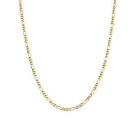 Goudkleurige Collier Figaro 3,0 mm  41 + 4 cm