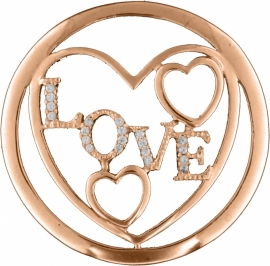 Rosé Love Fantasy Munt van MY iMenso 33-1188