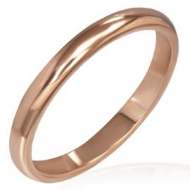 Smalle roségoud kleurige ring SKU45666