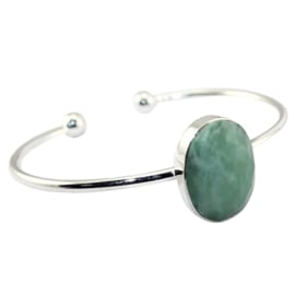 Bangle Armband met Amazonite Edelsteen van Sujasa