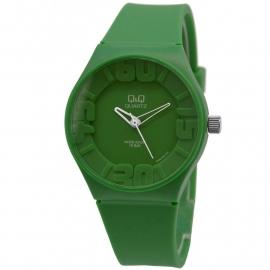 Q&Q groen kunststof horloge