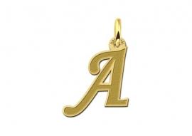 Names4ever Gouden Initiaal Hanger