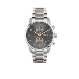 Hugo Boss Horloge Skymaster Zilverkleurig Horloge met Grijze Wijzerplaat van Boss