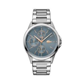 Lacoste Zilverkleurig Florence Horloge met Schakelband