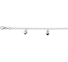 Kinderarmbandje met Harten - SALE armband