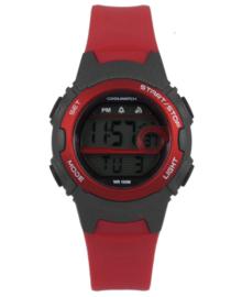 Robuust Digitaal Cool Watch Kids Horloge met Rode Kleur