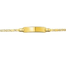 Kinderarmband van Massief Goud | 13 – 15  cm