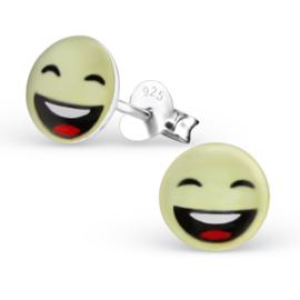 Smiley Oorbellen » Breed-lachend Gezicht