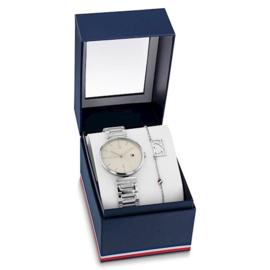 Tommy Hilfiger Horloge en Armband Gift Set voor Dames TH2770101
