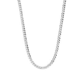 Zilveren Dames Collier Gourmet 3,2 mm 41 + 4 cm