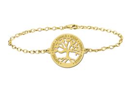 Levensboom Armband van Goud van het merk Names4ever