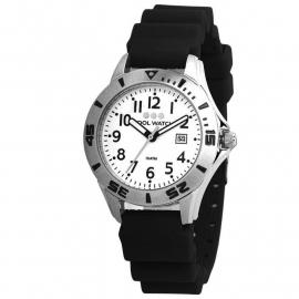 Cool Wacht Horloge CW.202 Scuba Diver Black/White