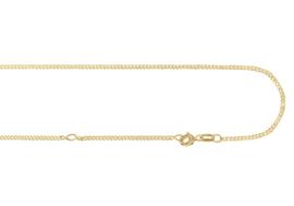 Gouden Gourmet Collier 42cm GCG01 | Names4ever