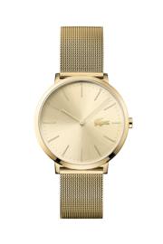 Lacoste Goudkleurig Dames Horloge met Milanese Horlogeband