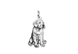 Zilveren Hanger in de Vorm van een (Huis)dier Names4ever