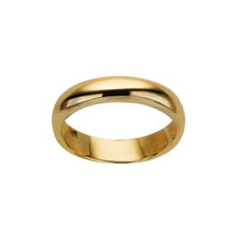 Goudkleurige Ring van Edelstaal van M&M | Ringmaat 19,7