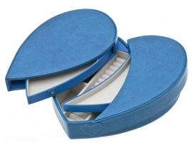 Blauwe Hartvormige Sieradendoos / DAVIDTS