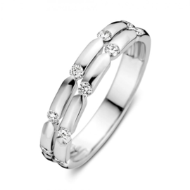 Excellent Jewelry Witgouden Ring met 0,29 crt. Briljanten