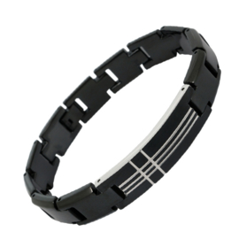 XS-eries4men Crossing Lines Bracelet - Graveer sieraad