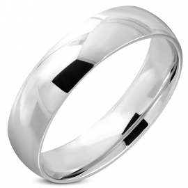 Edelstalen Graveer Ring