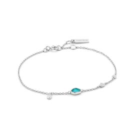 Turquoise Discs Bracelet van Ania Haie