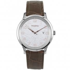 Prisma Heren P.1632 Horloge Edelstaal