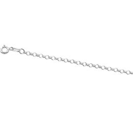 Stevig Jasseron Collier van Zilver | Dikte: 2,5mm Lengte: 70cm
