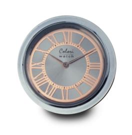 LOCKits Horloge Munt met Roségoudkleurige Tijdsaanduidingen 33mm