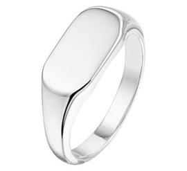 Zilveren Graveer ring voor Dames | Ring met naam