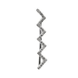 Zilveren Linker Ear Cuff van Kendall
