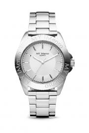 Compleet MY iMenso Quartz Horloge Zilverkleurig