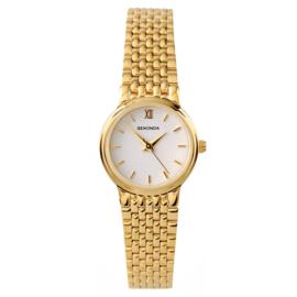 Goudkleurig Dames Horloge van Sekonda
