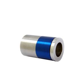 Blauwe Steel Triple Roller Bedel