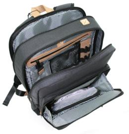Comfortabele Zwarte Rugtas van Davidts Mood & Moov