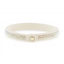Tennis Doble Swarovski Witte Armband van Spark Jewelry