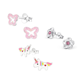Oorbellen voor Kids Gift Set