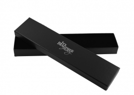 Zwart kartonnen armband/horloge doosje