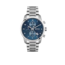 Hugo Boss Horloge Skymaster Zilverkleurig Horloge met Edelstalen Band van Boss