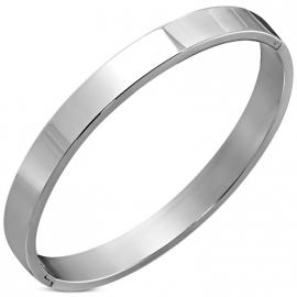 Zilverkleurige bangle armbanden met eigen gravering!