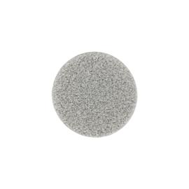 Kleine Zilverkleurige MY iMenso Glas Munt met Gediamanteerde Bewerking
