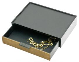 Bruine Glamour Box voor Sieraden van Davidts
