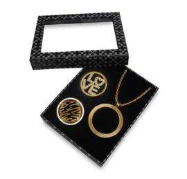 Stijlvolle Goudkleurige LOCKits Gift Set