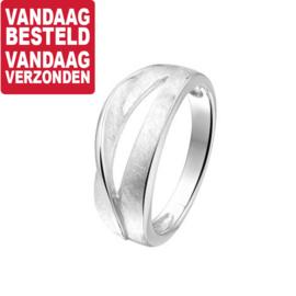 Ring van Zilver met Uitsparing | Ringmaat 19
