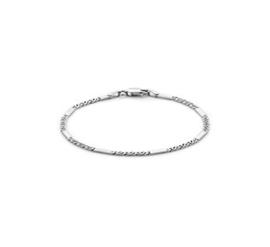 Zilveren Valkenoog Schakelarmband van 19cm voor Dames
