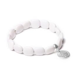 Grijze Armband van BIBA 53093MIX1