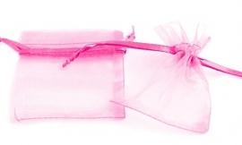 Roze Organza zakje