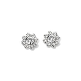 Excellent Jewelry Witgouden Oorstekers met 0,31 crt. aan Briljanten