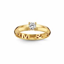 Nomelli Gioia-Amici Ring van Geelgoud