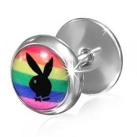 Playboy bunny oorbellen / Piercing oorbellen