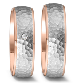 Trouwringen Set met Diamant » Perfect Wedding Trouwringen